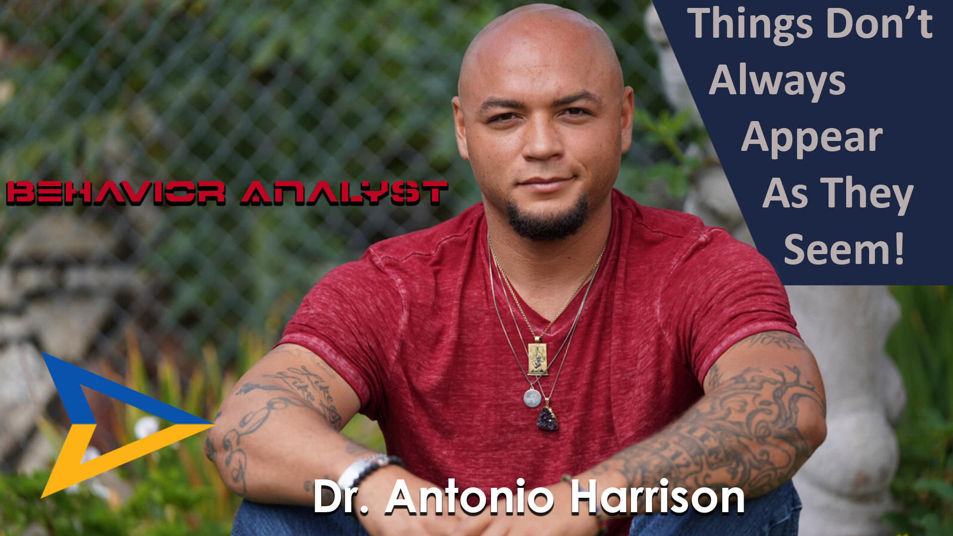 Appearances May Deceive You – Dr. Antonio Harrison  – IYB20180002